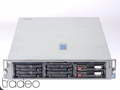HP ProLiant DL380 G3 Server 1x Xeon 2.8 GHz, 4 GB RAM, 72 GB 10k