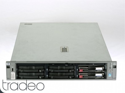 HP ProLiant DL380 G4 Server 1x Xeon 3.2 GHz (64 bit, 1MB L2), 4 GB RAM, 146 GB 10k