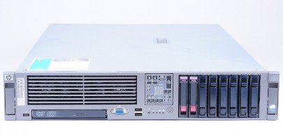 HP ProLiant DL380 G5 1x Xeon E5420 QC 2.5 GHz, 8 GB RAM, 2x 72 GB SAS 10k