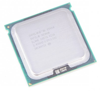 INTEL XEON E5440 SLANS Quad Core CPU 4x 2.83 GHz / 12 MB L2 / 1333 MHz FSB / Socket 771