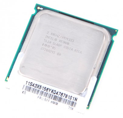 INTEL XEON 5130 SLABP Dual Core CPU 2x 2 GHz / 4 MB L2 / 1333 MHz FSB / Socket 771
