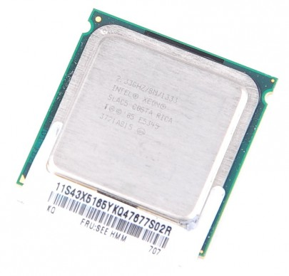 INTEL XEON E5345 SLAC5 Quad Core CPU 2.33 GHz / 8 MB L2 / Socket 771 / 1333 MHz FSB
