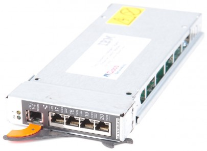 IBM/ Cisco OS-CIGESM-18TT-EBU 13N2285 BladeCenter 4 Port Gigabit Switch Module