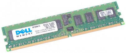DELL RAM Modul DDR2 2 GB PC2-3200R 1Rx4 ECC SNPG60636C/2G