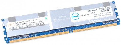 Dell RAM Modul PC2-5300F 8 GB 4Rx4 DDR2 FB-DIMM ECC