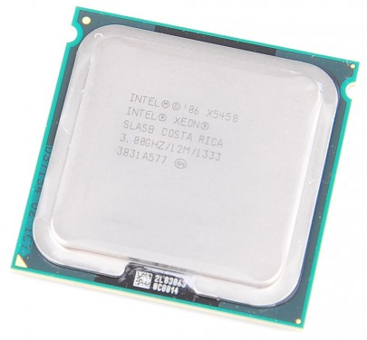 INTEL XEON X5450 SLASB Quad Core CPU 4x 3.0 GHz / 12 MB L2 / 1333 MHz FSB / Socket 771