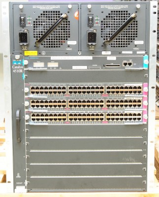 Cisco Catalyst 4510R Switch inkl. 3x WS-X4448-GB-RJ45 + WS-X4516