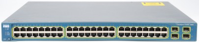 Cisco Catalyst WS-C3560G-48TS-S 48 Port Switch Gigabit 4 x SFP-Slot