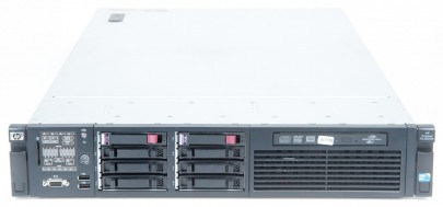 HP ProLiant DL380 G6 2x Xeon L5520 Quad Core 2.26 GHz, 72 GB RAM, 500 GB SSD
