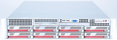 "Supermicro 19"" Server SYS-6025B-8R+V 2x Intel Xeon E5345 Quad Core 2.33 GHz / 32 GB RAM / 2x 146 GB SCSI"