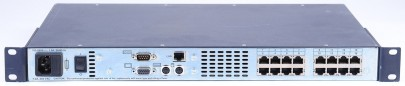 AVOCENT DSR 2161 16 Port KVM OVER IP ETHERNET SWITCH 520-247-001 2 PORT LOCAL