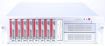 "Supermicro 19"" Server SYS-6035B-8R 2x Intel Xeon E5345 Quad Core 2.33 GHz / 16 GB RAM / 296 GB SCSI"
