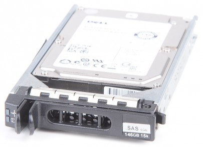 "Dell 2.5"" 146 GB 15K SAS Hot Swap Festplatte Dual Port 6G  0X162K / X162K"