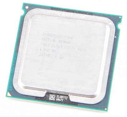 Intel Xeon 5060 3200DP 4M / 1066 / Socket 771  SL96A
