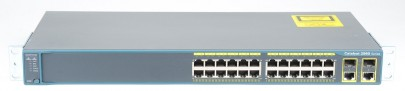 CISCO Catalyst WS-C2960-24TC-L 24 Port 10/100 + 2T/SFP LA Switch - Cisco 2960