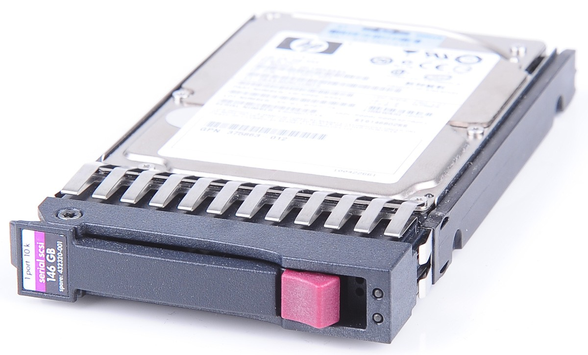 HP-146-GB-10K-SAS-2-5-Hot-Swap-Festplatte-fur-ProLiant-Server-432320-001