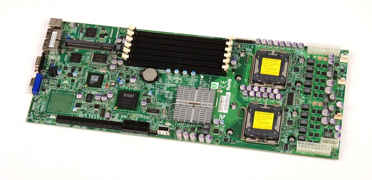 supermicro x7dct mdb-x7dct intel 771 64bit serverboard