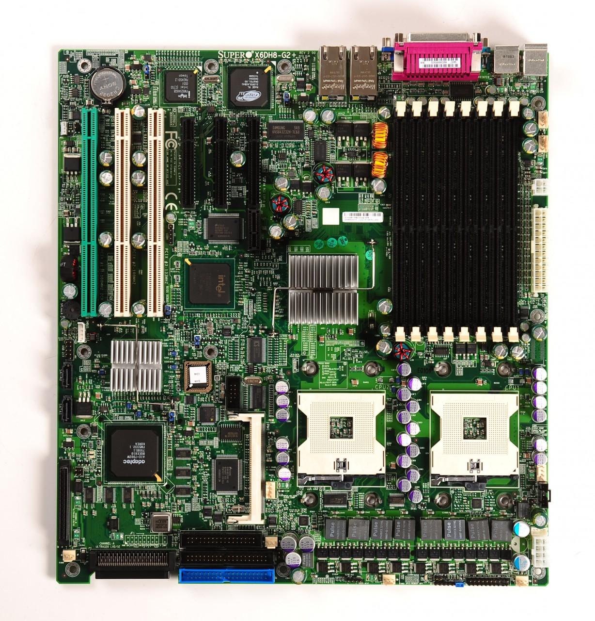 Supermicro-X6DH8-MBD-X6DH8-G2-Dual-604-Serverboard
