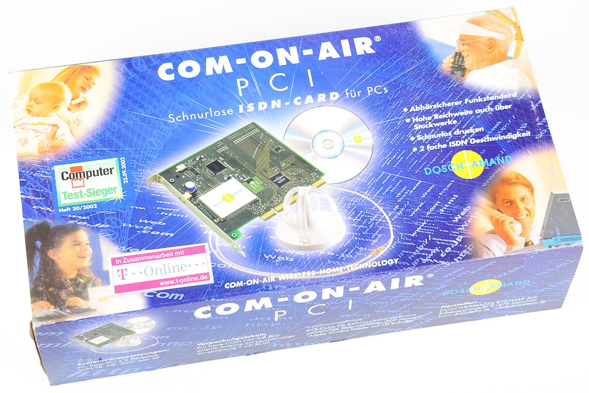 COM-ON-AIR-DECT-Karte-PCI-ComOnAir-Dosch-Amand-dedected-compatible