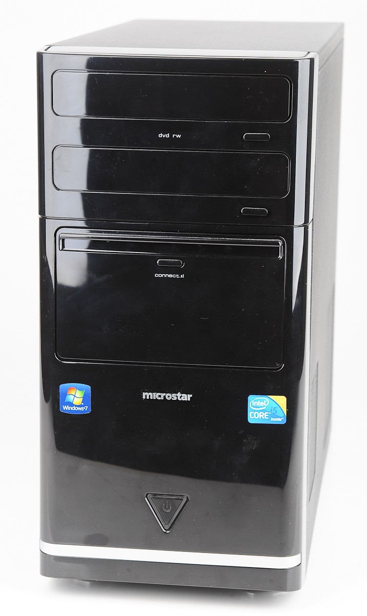 medion microstar intel core i5 750 4x 2 7 ghz 8 gb ram 1 tb win 7 home ebay. Black Bedroom Furniture Sets. Home Design Ideas