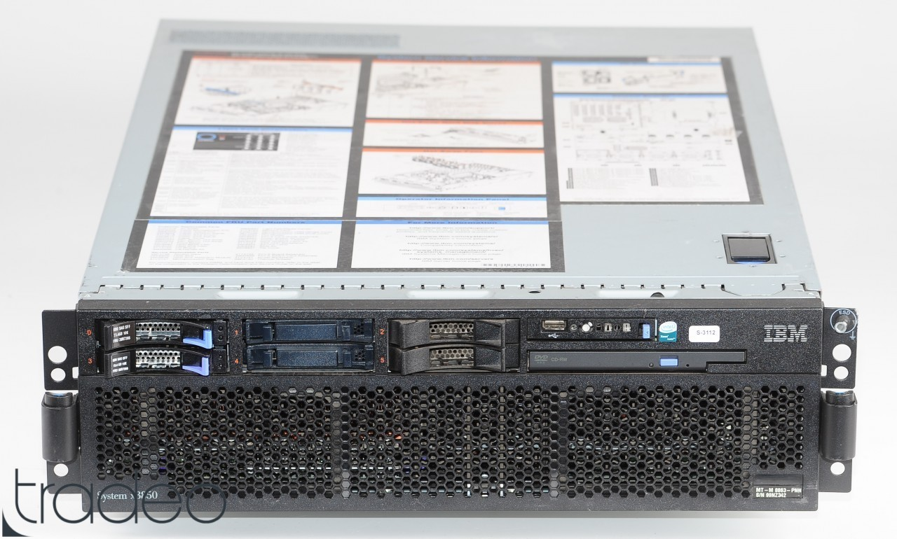IBM-System-x3850-M2-Server-4x-Xeon-E7330-Quad-Core-2-4-GHz-32-GB-RAM-146-GB-SAS