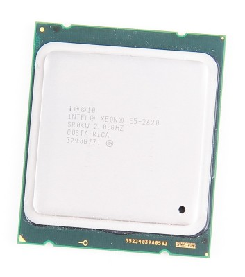 Intel Xeon E5-2620 Six Core CPU 6x 2.0 GHz, 7.2 GT/s, 15 MB L3 Cache, Socket 2011 - SR0KW