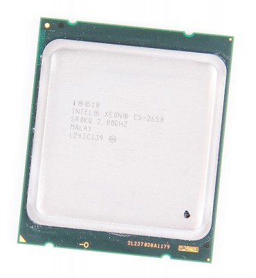 Intel Xeon E5-2650 8-Core CPU 8x 2.0 GHz, 8.0 GT/s, 20 MB L3 Cache, Socket 2011 - SR0KQ