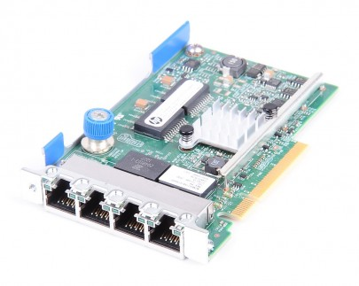 HP 331FLR Quad Port Gigabit Server Netzwerkkarte / LOM Adapter - Gen8 / Gen9 - 634025-001