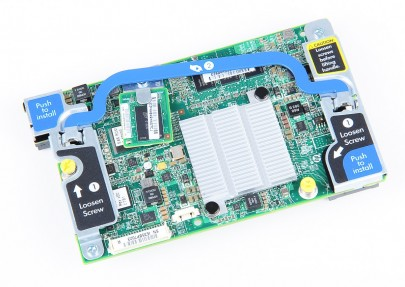 HP Smart Array P220i RAID Controller 6G SAS / 6G SATA - 512 MB FBWC Cache, Blade Card - 670026-001