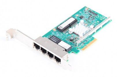 HP 331T Quad Port Gigabit Server Adapter / Netzwerkkarte PCI-E - 649871-001 / 647592-001