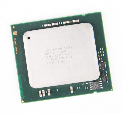 Intel Xeon X6510 Quad Core CPU 4x 1.73 GHz, 4.8 GT/s, 12 MB L3 Cache, Socket 1567 - SLBRL