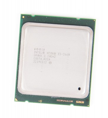 Intel Xeon E5-2660 8-Core CPU 8x 2.2 GHz, 8.0 GT/s, 20 MB L3 Cache, Socket 2011 - SR0KK