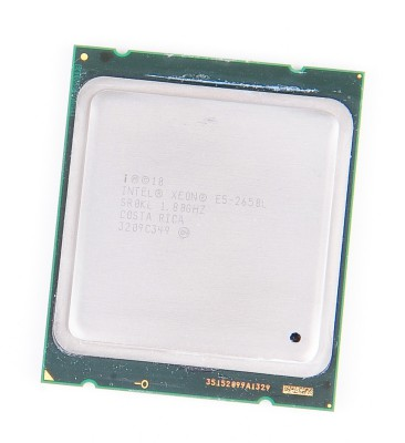 Intel Xeon E5-2650L 8-Core CPU 8x 1.8 GHz, 8.0 GT/s, 20 MB L3 Cache, Socket 2011 - SR0KL