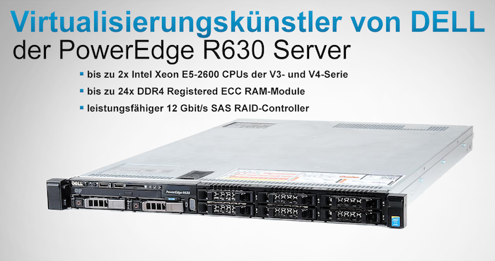 DELL PowerEdge R630 Server