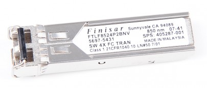 Finisar 4 Gbit/s SFP Modul / Transceiver - Short Wave, 850 nm - FTLF8524P2BNV