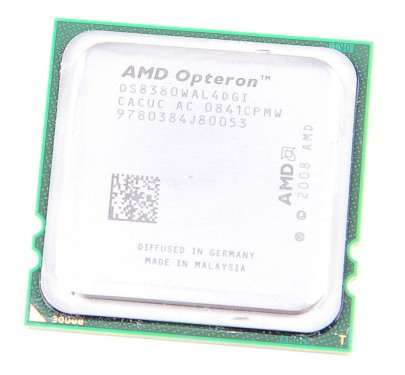 AMD OPTERON 8380 Quad Core CPU OS8380WAL4DGI / 4x 2.5 GHz / 6 MB L3 / Socket F
