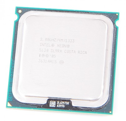 INTEL XEON 5130 SL9RX Dual Core CPU 2x 2 GHz / 4 MB L2 / Socket 771