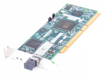 Emulex LP9802-E 2 Gbit/s FC1020042 Fibre Channel HBA PCI-X - low profile