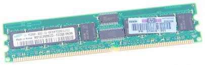 HP DDR RAM Module 1 GB PC3200R ECC 373029-851 400 CL3