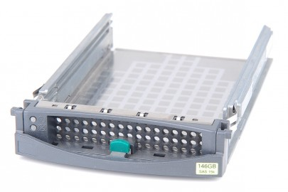"Fujitsu 3.5"" Hot Swap Hard Drive Caddy with Metalplate - A3C40056861"