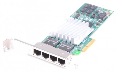 HP NC364T Quad Port Gigabit Server Adapter / Netzwerkkarte PCI-E - 436431-001