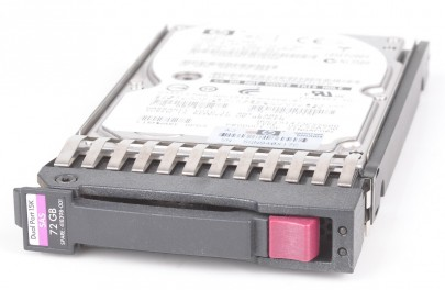 "HP 72 GB Dual Port 15K SAS 2.5"" Hot Swap Hard Drive - 418398-001"