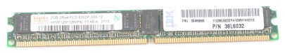 IBM RAM Modul 2 GB PC2-5300P 2Rx4 39M5866 ECC VLP