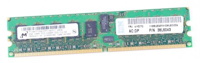 IBM 2 GB PC2-5300P DDR2 RAM Modul CL5 ECC 41Y2770