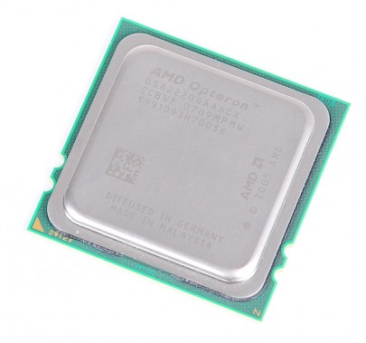 AMD OPTERON 2220 Dual Core CPU OSA2220GAA6CX / 2x 2.8 GHz / 2x 1MB L2 / Socket F