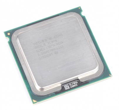 INTEL XEON E5345 SLAEJ Quad Core CPU 2.33 GHz / 8 MB L2 / Socket 771 / 1333 MHz FSB