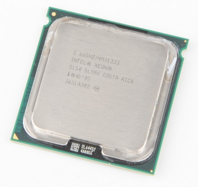 INTEL XEON 5150 SL9RU Dual Core CPU 2x 2.66 GHz / 4 MB L2 / 1333 MHz FSB / Socket 771