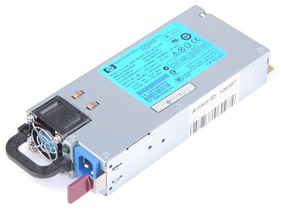 HP 460 Watt Netzteil / Power Supply - DL360 / DL380 G6 / G7, ML350 / ML370 G6, DL370 G6, DL180 G6 - 599381-001