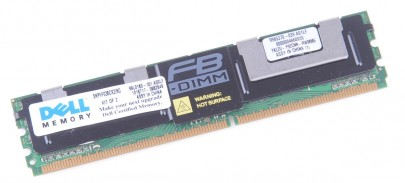 Dell RAM Module PC2-5300F 4 GB 2Rx4 DDR2 FB-DIMM ECC