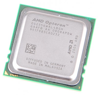 AMD OPTERON 2356 Quad Core CPU OS2356WAL4BGH / 4x 2.3 GHz / 4x 512KB L2 / 2 MB L3 / Socket F